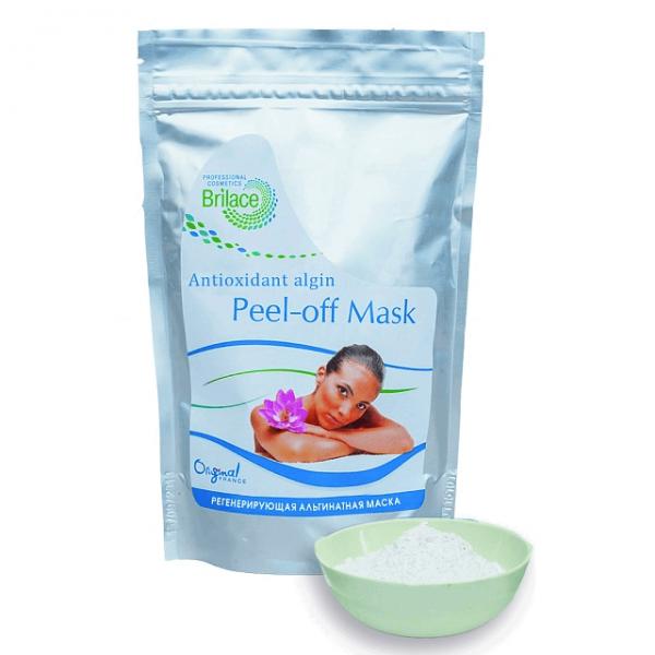 Альгинатная регенерирующая маска для лица Brilace Antioxidant algin peel-off mask 150г