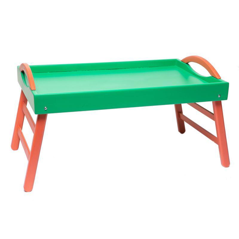 Столик для завтрака Зелено-красный