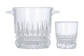 Набор стаканы + ведро для льда Luminarc IMPERATOR P6008 7 предметов, фото 2