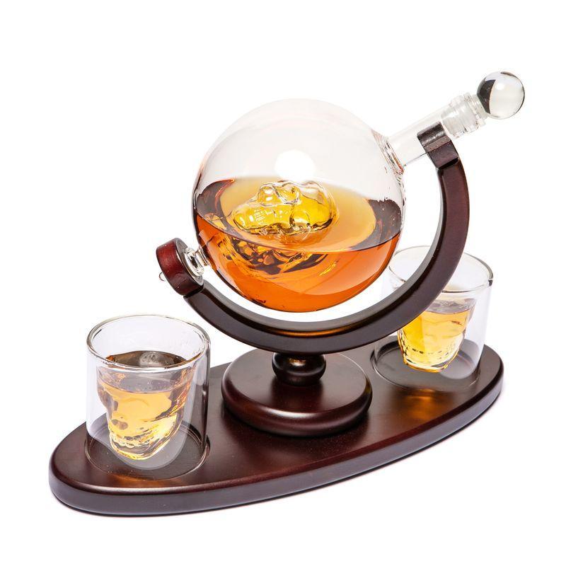 Набор для виски стаканы и штоф подарочный Доктор Фауст BST 640002