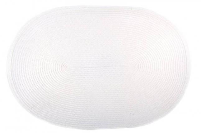 Коврик для горячего Овал PDL Sets КВ049-11 Белый, фото 2