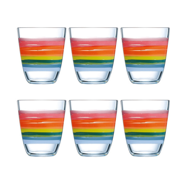 Набор стаканов Luminarc NEO COLOR PENCIL 310X6 N1323