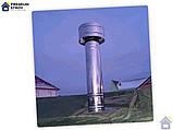 Дефлектор из нержавейки d100 мм 0,5 мм, фото 7