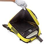 Рюкзак городской для ноутбука Солнце BST 320016 29х12х45 см. желтый, фото 3