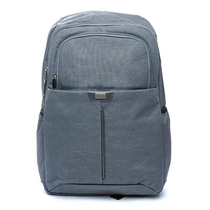 Рюкзак мужской городской BST 430024 30х14х40 см. серый