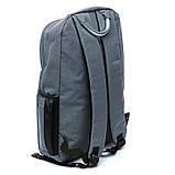Рюкзак мужской городской BST 430024 30х14х40 см. серый, фото 4