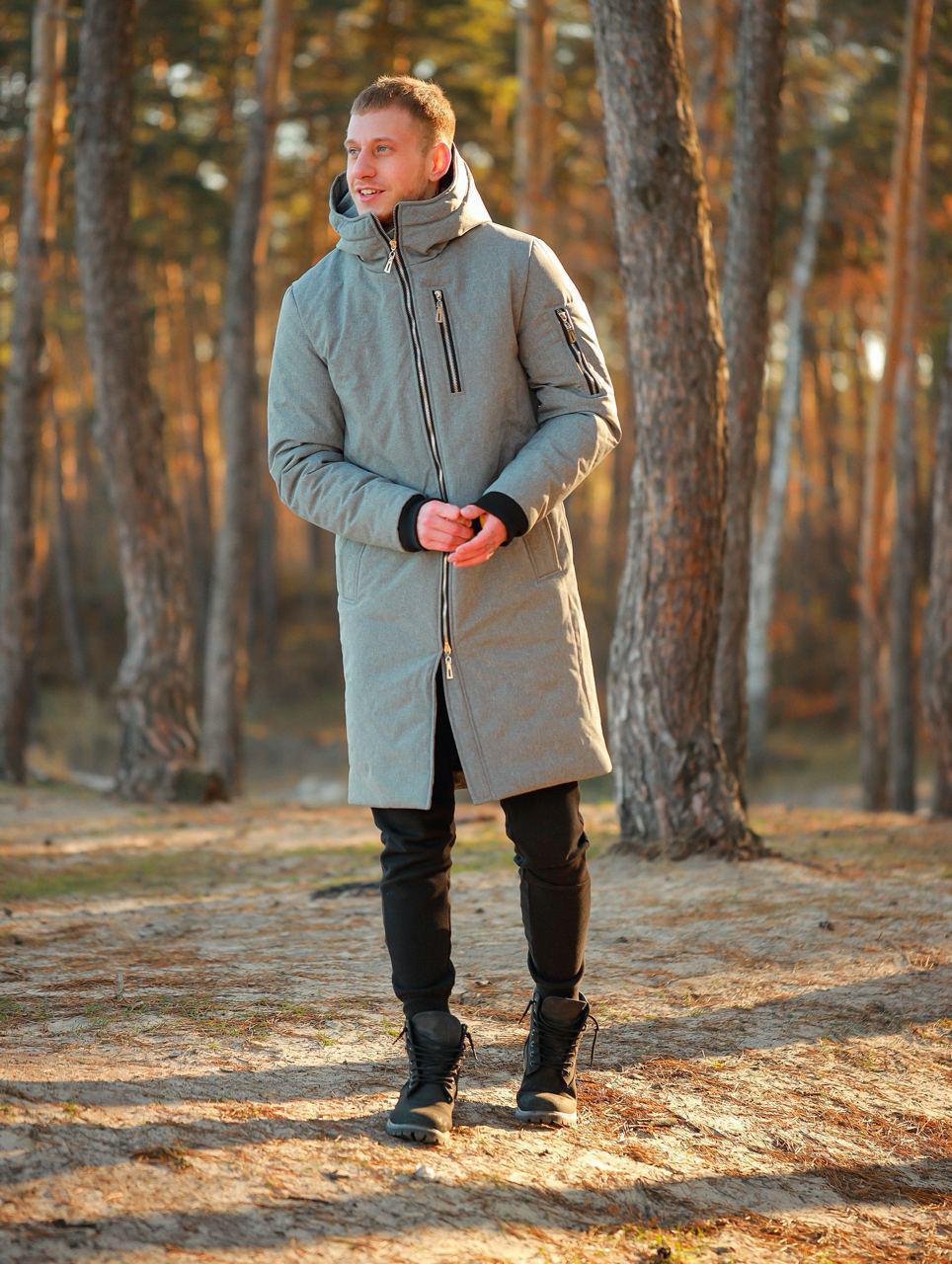 Чоловіча куртка. Чоловіча парку. Пуховик.