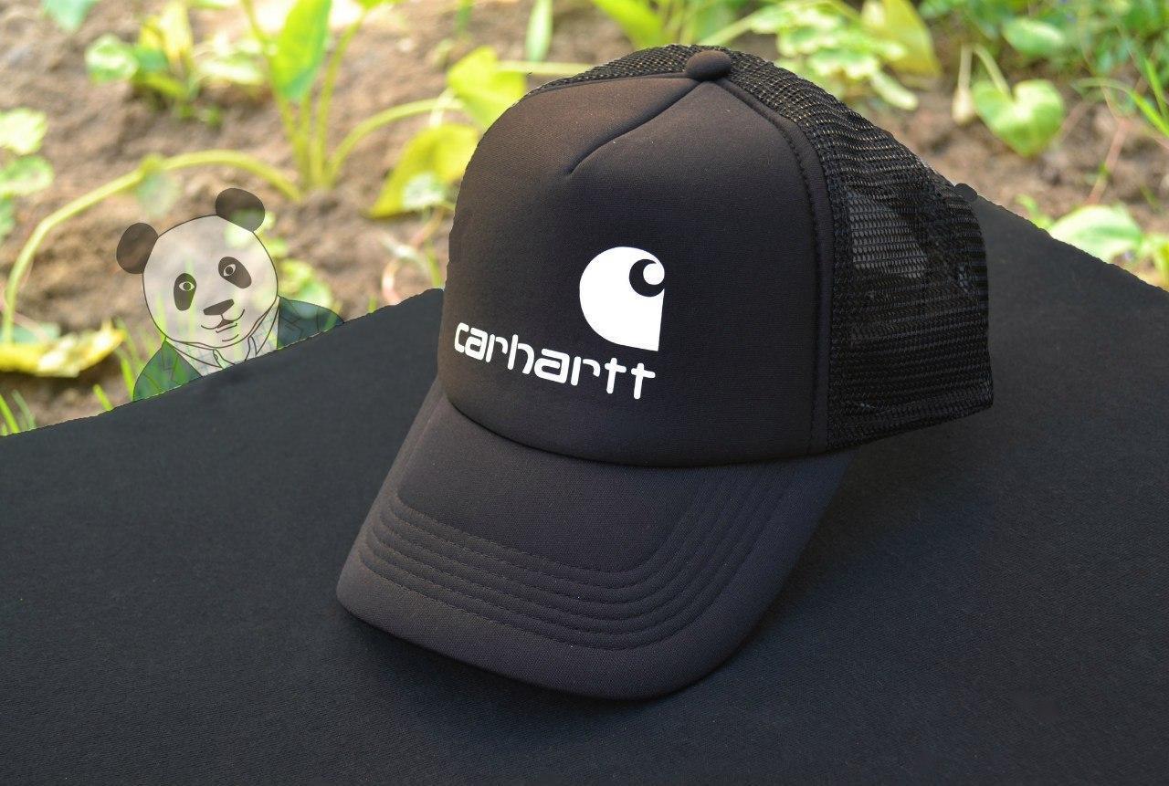 Кепка тракер Кархартт (Carhartt), летняя с сеткой