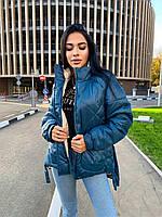 """Куртка жіноча демісезонна стильна, розміри 42-48 (3ол) """"Zig Zag"""" купити недорого від прямого постачальника"""