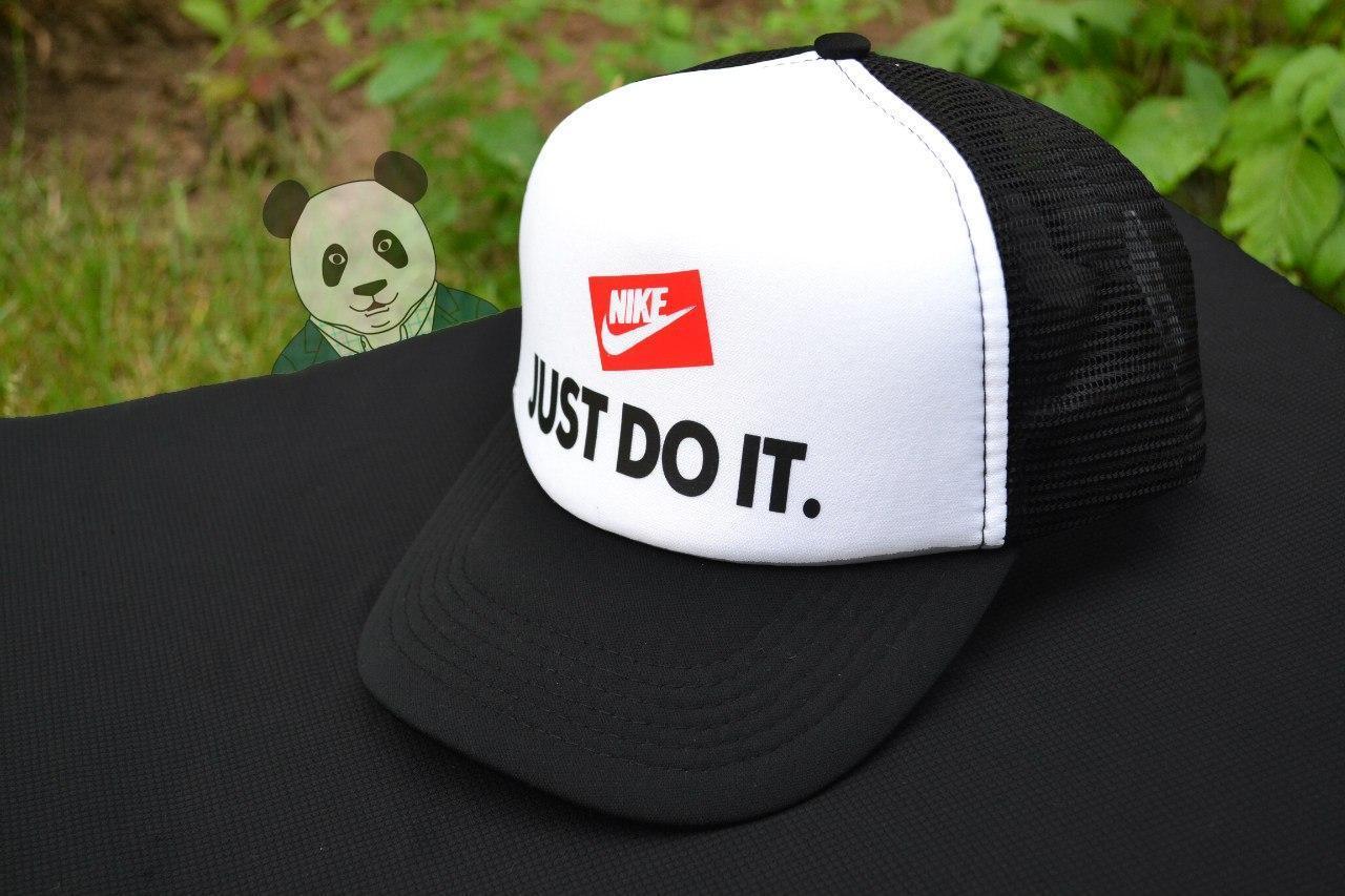 Кепка тракер Найк (Nike), летняя с сеткой