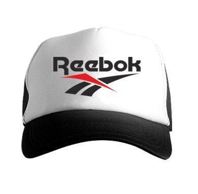 Кепка тракер Рибок (Reebok), летняя с сеткой