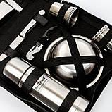 Сумка для пикника с набором посуды BST 100008 28х21х8 см на 6 персон, фото 4