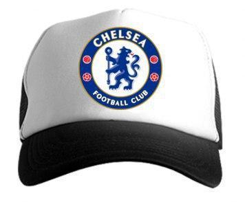 Кепка Тракер черная Chelsea (люкс копия)