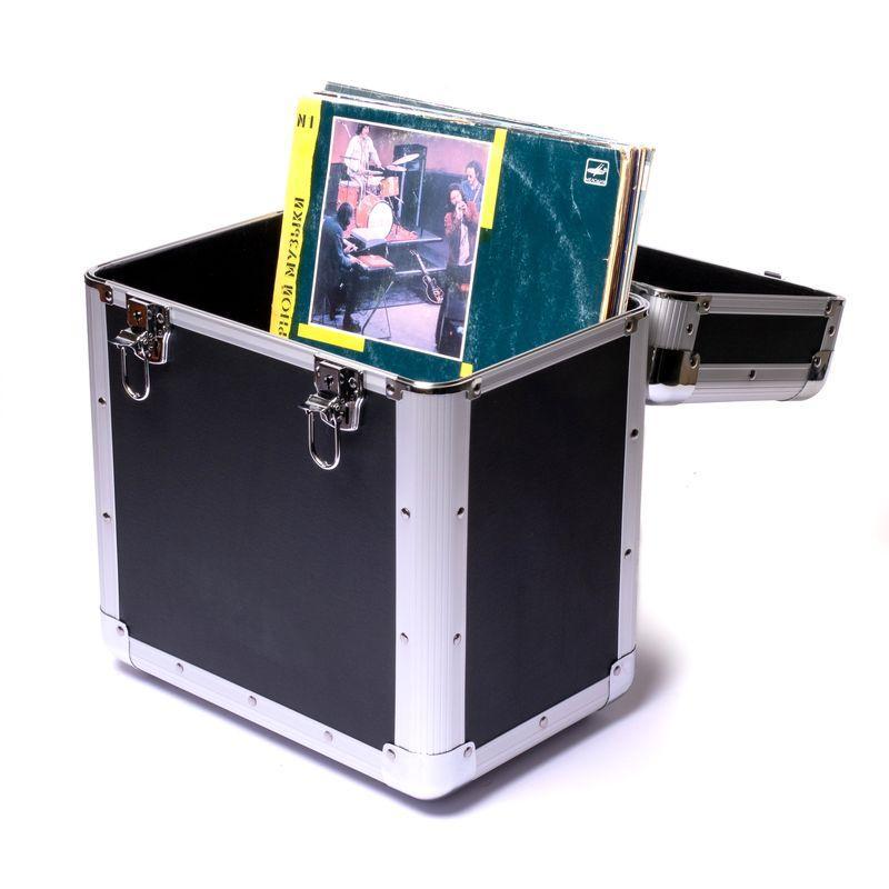 Ящик для хранения виниловых пластинок 35*25*40 см BST 103001