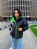 """Куртка жіноча демісезонна яскрава, розміри 42-48 (2цв) """"Zig Zag"""" купити недорого від прямого постачальника"""
