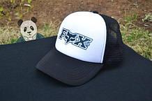 Кепка Тракер чорна FOX (люкс копія)