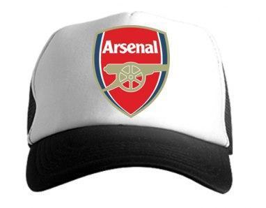 Кепка Тракер черная Arsenal (люкс копия)