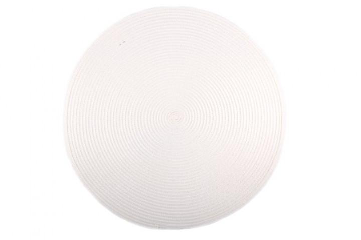 Килимок для гарячого Круглий PDL Sets КВ048-11 Білий
