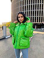 """Куртка жіноча демісезонна яскрава, розміри 42-48 """"Zig Zag"""" купити недорого від прямого постачальника"""