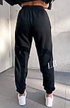 Спортивные штаны женские флисовые чёрный, бежевый, 42-44, 46-48, фото 8