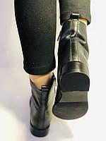 Жіночі черевики. На середньому каблуці. Натуральна шкіра.Висока якість. Erisses. Р. 38,40.Vellena, фото 8