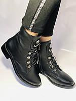 Жіночі черевики. На середньому каблуці. Натуральна шкіра.Висока якість. Erisses. Р. 38,40.Vellena, фото 2