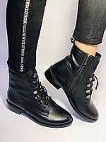 Жіночі черевики. На середньому каблуці. Натуральна шкіра.Висока якість. Erisses. Р. 38,40.Vellena, фото 6