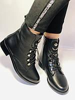 Жіночі черевики. На середньому каблуці. Натуральна шкіра.Висока якість. Erisses. Р. 38,40.Vellena, фото 5