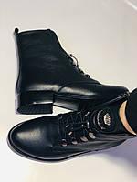 Жіночі черевики. На середньому каблуці. Натуральна шкіра.Висока якість. Erisses. Р. 38,40.Vellena, фото 9