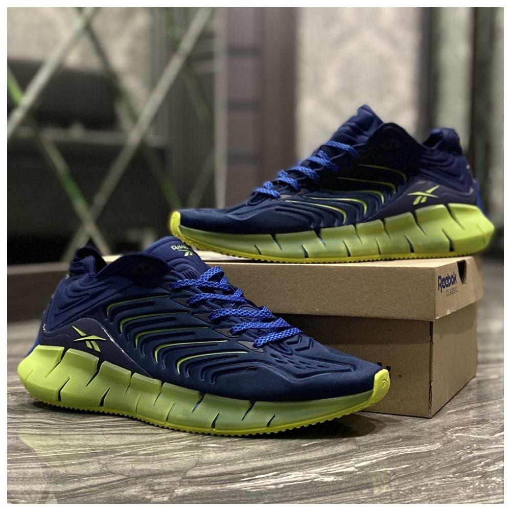 Мужские кроссовки Reebok Zig Kinetica Conor McGregor Blue, кроссовки рибок зиг кинетика, кросівки Reebok Conor