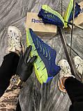 Мужские кроссовки Reebok Zig Kinetica Conor McGregor Blue, кроссовки рибок зиг кинетика, кросівки Reebok Conor, фото 5
