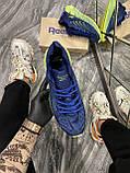 Мужские кроссовки Reebok Zig Kinetica Conor McGregor Blue, кроссовки рибок зиг кинетика, кросівки Reebok Conor, фото 4