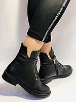 Жіночі осінні черевики на низькому каблуці. Натуральна шкіра.Туреччина. Alvito. р. 36-40. Vellena, фото 7