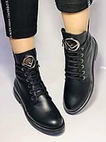 Жіночі осінні черевики на низькому каблуці. Натуральна шкіра.Туреччина. Alvito. р. 36-40. Vellena, фото 2