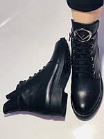 Жіночі осінні черевики на низькому каблуці. Натуральна шкіра.Туреччина. Alvito. р. 36-40. Vellena, фото 6