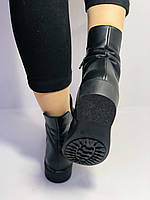 Жіночі осінні черевики на низькому каблуці. Натуральна шкіра.Туреччина. Alvito. р. 36-40. Vellena, фото 9