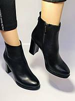 Женские модельные ботинки на каблуке. Натуральная кожа. Люкс качество. Erisses. Р. 35.36.37.38.40.Vellena, фото 3