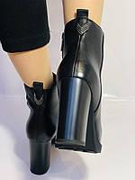 Женские модельные ботинки на каблуке. Натуральная кожа. Люкс качество. Erisses. Р. 35.36.37.38.40.Vellena, фото 5