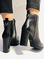 Женские модельные ботинки на каблуке. Натуральная кожа. Люкс качество. Erisses. Р. 35.36.37.38.40.Vellena, фото 4