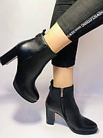 Женские модельные ботинки на каблуке. Натуральная кожа. Люкс качество. Erisses. Р. 35.36.37.38.40.Vellena, фото 8
