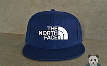 Снепбек Зе норд фейс, чоловіча кепка The North Face, брендовий реперка