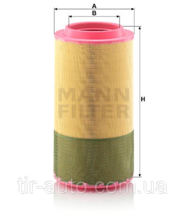 Воздушный фильтр MAN TGA, TGS, TGX ( MANN ) C 27 1250/1