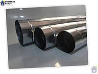 Труба оцинкованная для дымоходов d100 0,5 мм 1.25 м