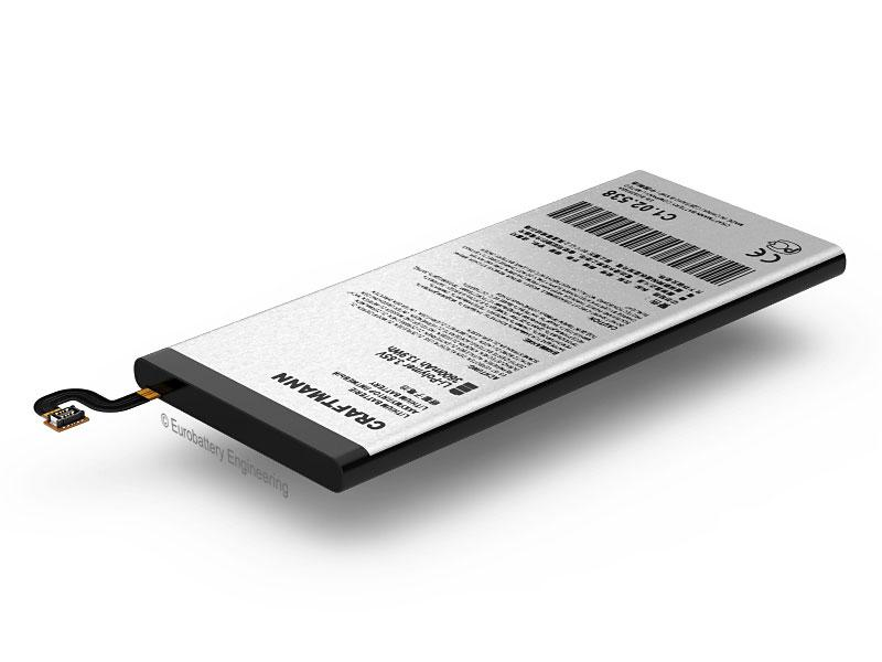 Аккумулятор Craftmann для Samsung Galaxy S7 Edge SM-G935FD SM-G935R (ёмкость 3600mAh)