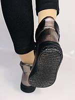 Женские осенние ботинки. На плоской подошве. Lonza. Р.37.38.39.40.Vellena, фото 8