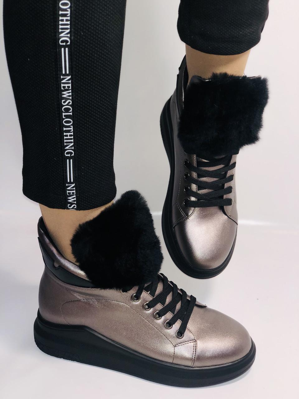 Жіночі осінні черевики. На плоскій підошві. Lonza. Р. 37.38.39.40.Vellena