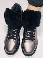 Женские осенние ботинки. На плоской подошве. Lonza. Р.37.38.39.40.Vellena, фото 9