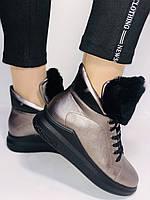 Женские осенние ботинки. На плоской подошве. Lonza. Р.37.38.39.40.Vellena, фото 3
