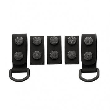 M-Tac крепления на тактический ремень (5 шт) Black