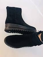 Натуральный мех. Люкс качество. Женские зимние ботинки. Натуральная замша. Berkonty. Р.37-39, фото 10